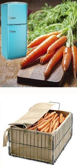 так же можно хранить морковь в холодильнике