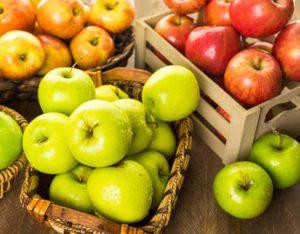 яблоки надо укладывать разными способами