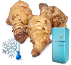 топинамбур можно хранить как в холодильнике так и в морозилке