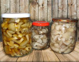 соленые грибы в домашних заготовках хранятся долго