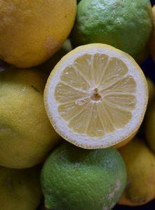 лимоны надо выбирать правильно
