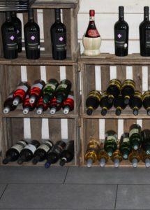 дома храним вино в горизонтальном положении