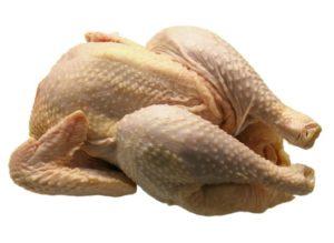 курицу на долгое хранение лучше заморозить