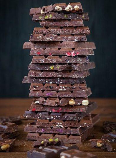 дома шоколад лучше держать в холодильнике
